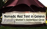 Nomadic Red Tent in Geneva