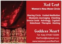 Goddess Heart Red Tent (Northwest London)