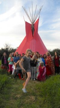 The Wonderful Women`s Red Tent (Herefordshire)