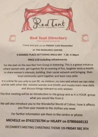 Red Tent Kettering