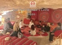Red Tent Women's Circle Gozo