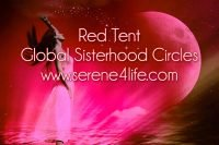 Milton Keynes Red Tent Moon Circle